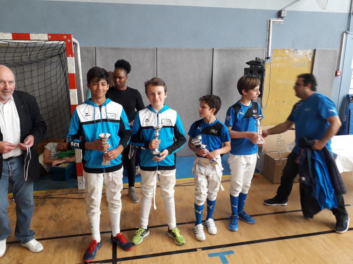 3eme Championnat Régional Robin Dumet et Alix Seillon.